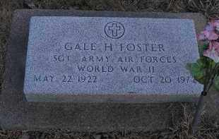 FOSTER, GALE H. - Fulton County, Illinois | GALE H. FOSTER - Illinois Gravestone Photos