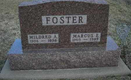 FOSTER, MILDRED A. - Fulton County, Illinois | MILDRED A. FOSTER - Illinois Gravestone Photos