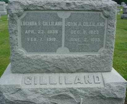 OWENS GILLILAND, LUCINDA S. - Fulton County, Illinois | LUCINDA S. OWENS GILLILAND - Illinois Gravestone Photos