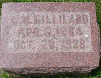GILLILAND, WILLIAM M. - Fulton County, Illinois | WILLIAM M. GILLILAND - Illinois Gravestone Photos