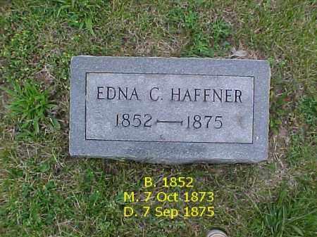 HAFFNER, EDNA - Fulton County, Illinois | EDNA HAFFNER - Illinois Gravestone Photos