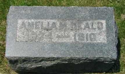 AIKEN HEALD, AMELIA MARTHA - Fulton County, Illinois   AMELIA MARTHA AIKEN HEALD - Illinois Gravestone Photos