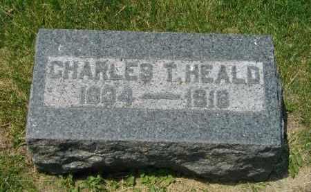 HEALD, CHARLES THADEUS - Fulton County, Illinois   CHARLES THADEUS HEALD - Illinois Gravestone Photos
