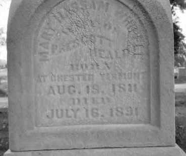 WHIPPLE HEALD, MARY HASSAM - Fulton County, Illinois | MARY HASSAM WHIPPLE HEALD - Illinois Gravestone Photos