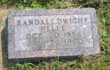 HELLE, RANDALL DWIGHT - Fulton County, Illinois | RANDALL DWIGHT HELLE - Illinois Gravestone Photos