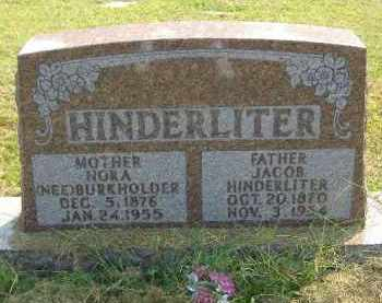 HINDERLITER, JACOB - Fulton County, Illinois | JACOB HINDERLITER - Illinois Gravestone Photos