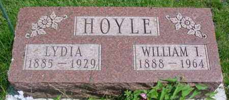 HOYLE, LYDIA - Fulton County, Illinois | LYDIA HOYLE - Illinois Gravestone Photos