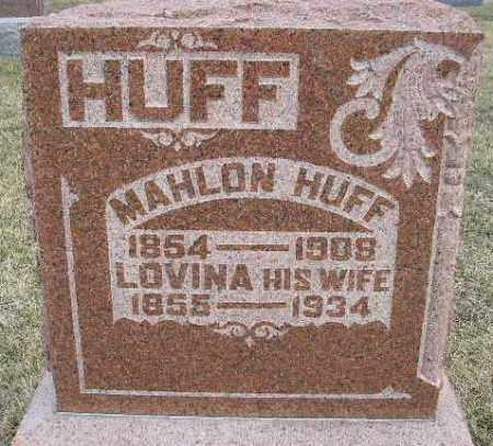 HUFF, LOVINA - Fulton County, Illinois | LOVINA HUFF - Illinois Gravestone Photos