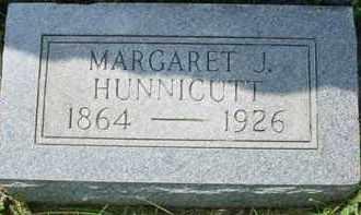 HUNNICUTT, MARGARET J. - Fulton County, Illinois | MARGARET J. HUNNICUTT - Illinois Gravestone Photos