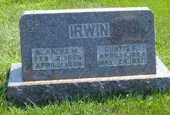 CLAYBERG IRWIN, BLANCHE MAE - Fulton County, Illinois | BLANCHE MAE CLAYBERG IRWIN - Illinois Gravestone Photos