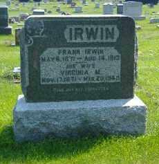 IRWIN, VIRGINIA M. - Fulton County, Illinois | VIRGINIA M. IRWIN - Illinois Gravestone Photos