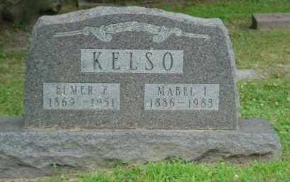 KELSO, MABEL I. - Fulton County, Illinois | MABEL I. KELSO - Illinois Gravestone Photos