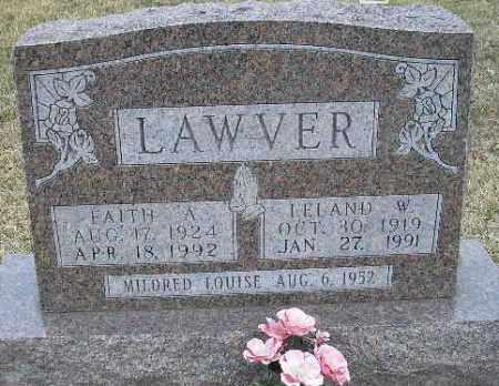 LAWVER, LELAND W. - Fulton County, Illinois | LELAND W. LAWVER - Illinois Gravestone Photos