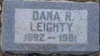 LEIGHTY, DANA R. - Fulton County, Illinois | DANA R. LEIGHTY - Illinois Gravestone Photos