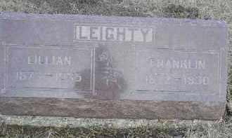 LEIGHTY, JAMES FRANKLIN (FRANK) - Fulton County, Illinois   JAMES FRANKLIN (FRANK) LEIGHTY - Illinois Gravestone Photos