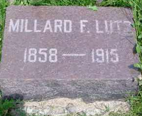 LUTZ, MILLARD FILLMORE - Fulton County, Illinois | MILLARD FILLMORE LUTZ - Illinois Gravestone Photos