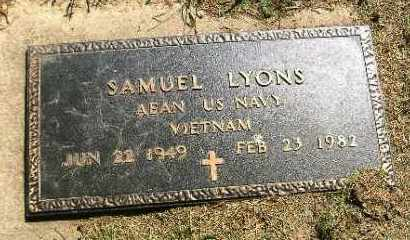 LYONS, SAMUEL - Fulton County, Illinois | SAMUEL LYONS - Illinois Gravestone Photos