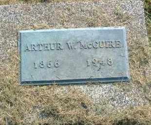 MCGUIRE, ARTHUR W. - Fulton County, Illinois | ARTHUR W. MCGUIRE - Illinois Gravestone Photos