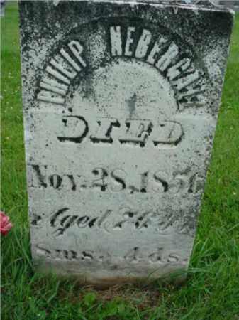 NEBERGALL, PHILIP - Fulton County, Illinois | PHILIP NEBERGALL - Illinois Gravestone Photos