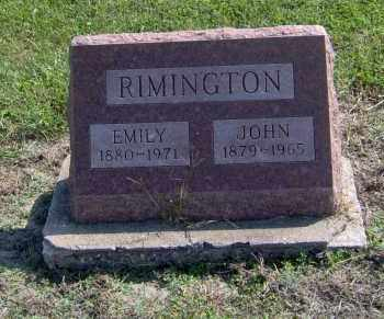 RIMINGTON, JOHN - Fulton County, Illinois | JOHN RIMINGTON - Illinois Gravestone Photos