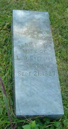 STERLING, MARY M. - Fulton County, Illinois | MARY M. STERLING - Illinois Gravestone Photos