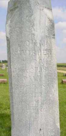 SWISHER, JOHN - Fulton County, Illinois | JOHN SWISHER - Illinois Gravestone Photos