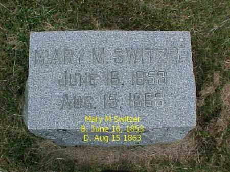 SWITZER, MARY M. - Fulton County, Illinois | MARY M. SWITZER - Illinois Gravestone Photos