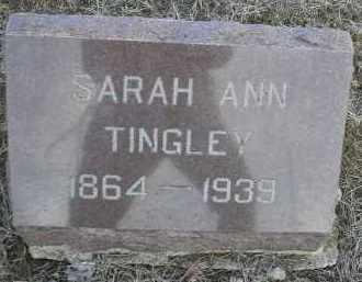 LEIGHTY TINGLEY, SARAH ANN - Fulton County, Illinois | SARAH ANN LEIGHTY TINGLEY - Illinois Gravestone Photos