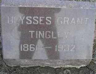 TINGLEY, ULYSSES GRANT - Fulton County, Illinois   ULYSSES GRANT TINGLEY - Illinois Gravestone Photos