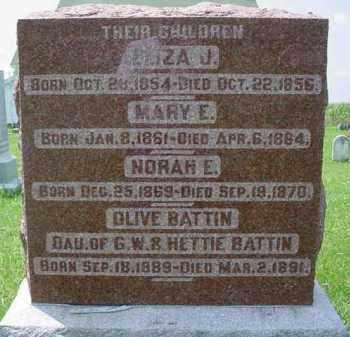 WETZEL, ELIZA J. - Fulton County, Illinois | ELIZA J. WETZEL - Illinois Gravestone Photos