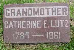 WONDERLICH (WETZEL) LUTZ, CATHERINE E. - Fulton County, Illinois   CATHERINE E. WONDERLICH (WETZEL) LUTZ - Illinois Gravestone Photos