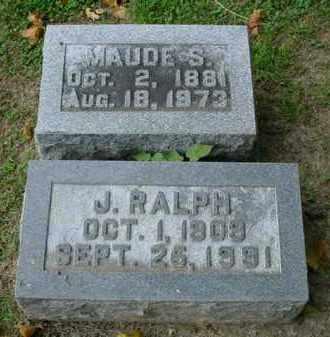 WETZEL, MAUDE S. - Fulton County, Illinois | MAUDE S. WETZEL - Illinois Gravestone Photos