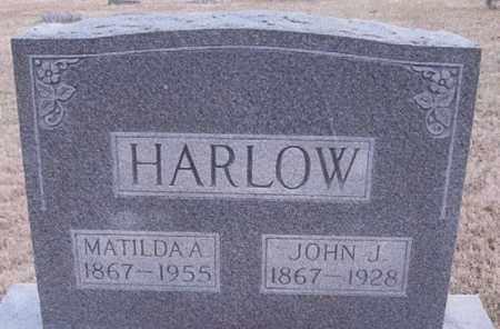 HARLOW, JOHN JOSHUA - Gallatin County, Illinois | JOHN JOSHUA HARLOW - Illinois Gravestone Photos