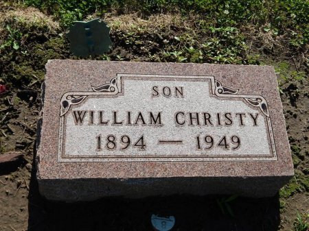 CHRISTY, WILLIAM - Grundy County, Illinois | WILLIAM CHRISTY - Illinois Gravestone Photos