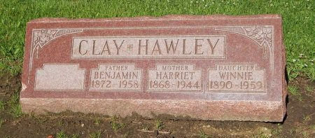 HAYES CLAY, HARRIET - Grundy County, Illinois | HARRIET HAYES CLAY - Illinois Gravestone Photos