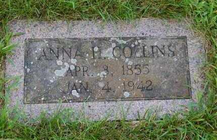 COLLINS, ANNA H - Grundy County, Illinois | ANNA H COLLINS - Illinois Gravestone Photos