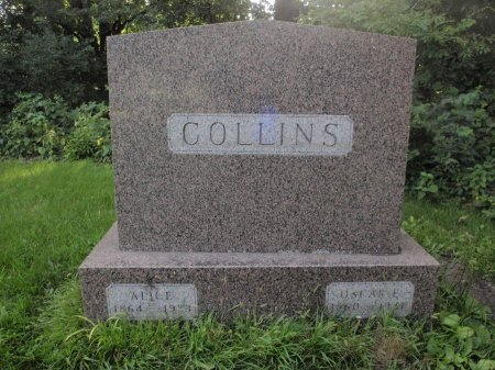 COLLINS, FAMILY MARKER - Grundy County, Illinois | FAMILY MARKER COLLINS - Illinois Gravestone Photos