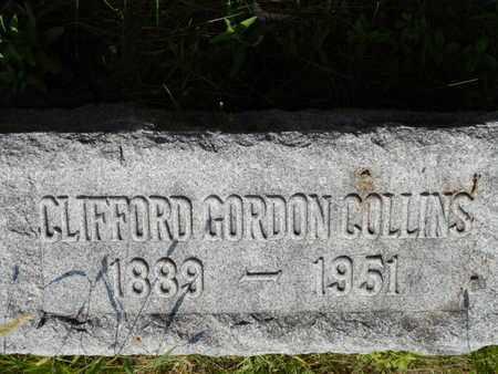 COLLINS, CLIFFORD GORDON - Grundy County, Illinois | CLIFFORD GORDON COLLINS - Illinois Gravestone Photos