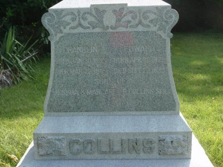 COLLINS, FRANKLIN - Grundy County, Illinois | FRANKLIN COLLINS - Illinois Gravestone Photos