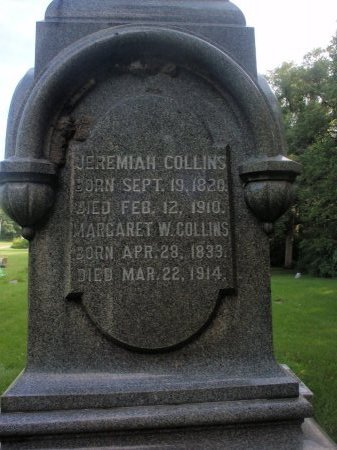 WIDNEY COLLINS, MARGARET W - Grundy County, Illinois | MARGARET W WIDNEY COLLINS - Illinois Gravestone Photos