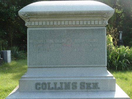 COLLINS, JOSHUA AND MARGARET - Grundy County, Illinois | JOSHUA AND MARGARET COLLINS - Illinois Gravestone Photos