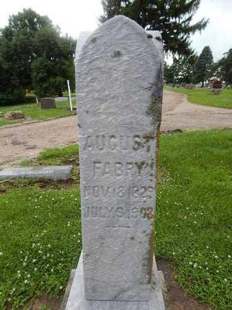 FABRY, AUGUST - Grundy County, Illinois | AUGUST FABRY - Illinois Gravestone Photos