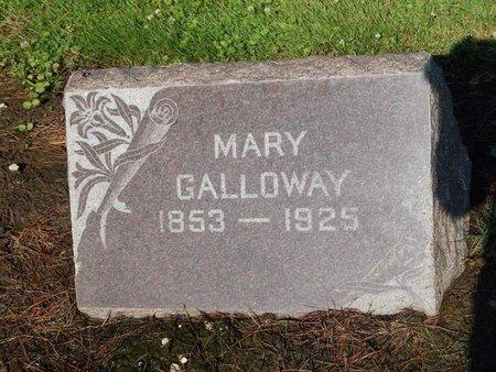 GALLOWAY, MARY - Grundy County, Illinois | MARY GALLOWAY - Illinois Gravestone Photos