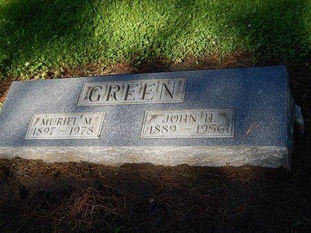GREEN, MURIEL M - Grundy County, Illinois | MURIEL M GREEN - Illinois Gravestone Photos