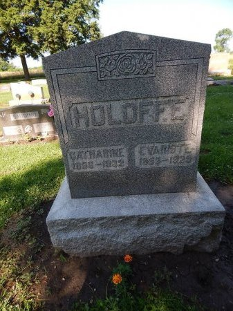 GOWZE HOLOFFE, CATHARINE - Grundy County, Illinois | CATHARINE GOWZE HOLOFFE - Illinois Gravestone Photos