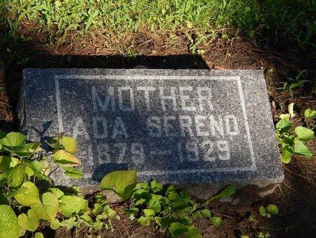 SERENO, ADA - Grundy County, Illinois   ADA SERENO - Illinois Gravestone Photos