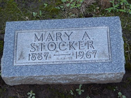 STOCKER, MARY A - Grundy County, Illinois | MARY A STOCKER - Illinois Gravestone Photos