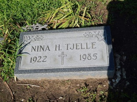 TJELLE, NINA - Grundy County, Illinois | NINA TJELLE - Illinois Gravestone Photos