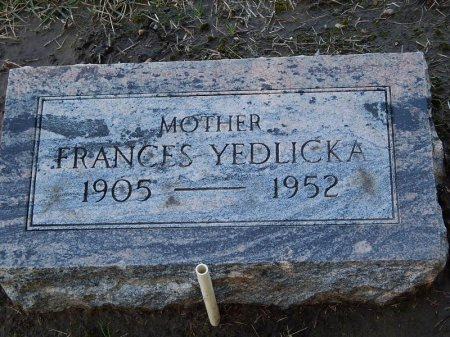 YEDLICKA, FRANCES - Grundy County, Illinois | FRANCES YEDLICKA - Illinois Gravestone Photos