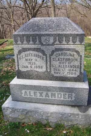 ALEXANDER, CAROLINE - Hancock County, Illinois | CAROLINE ALEXANDER - Illinois Gravestone Photos